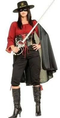 womens creative halloween Zorro costumes