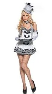 Cigarette Girl Halloween Costume You Can Make at Home