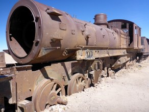 Train Graveyard, Bolivia