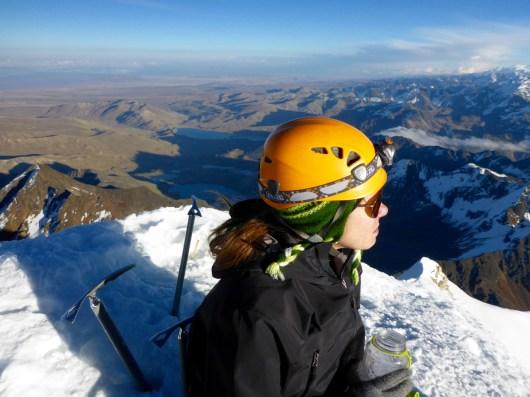 Climbing Huayna Potosí