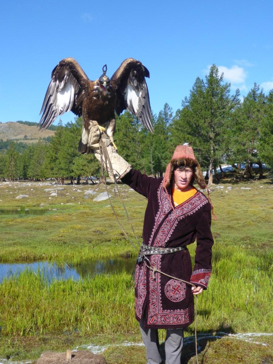 Eagle Hunter in Western Mongolia
