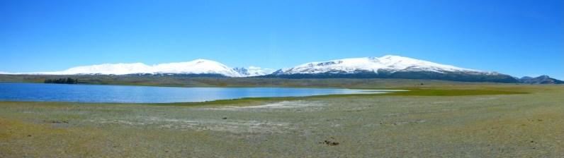 Lake in Western Mongolia