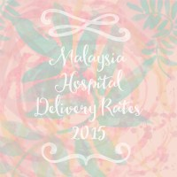 Hospital Maternity and Delivery Rates in Malaysia 2015