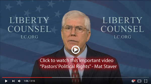 Pastors' Political Rights – Mat Staver