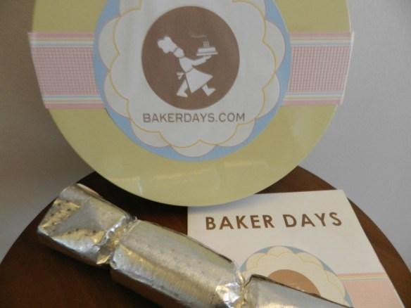 Baker Days, letter box cake