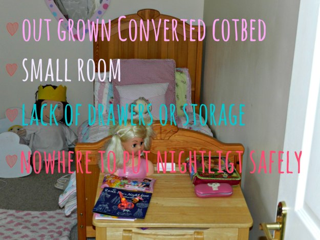 toddler bedroom moving to big girls bed,