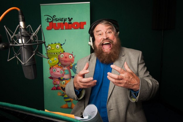 Henry Hugglemonster  Eduardo Enormomonster, voiced by Brian Blessed. Disney Jr