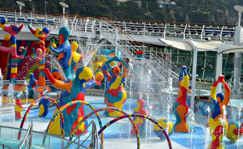 Royal Caribbean Water Fun