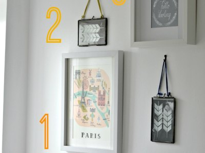 Creating a Wall Gallery in my Ensuite