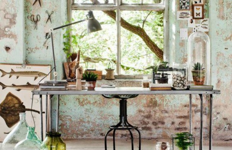 Why industrial  décor is having a moment