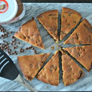 Nutella and Peanut Butter Cookie Pie