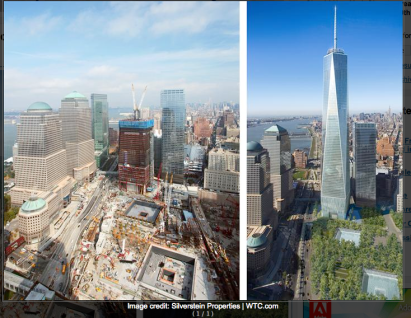 Comparative View - One World Trade Center
