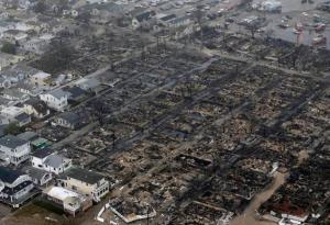 Breezy Point is Devastated by the Fires of Hurricane Sandy