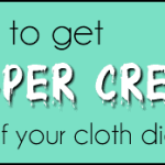 How to Get Diaper Cream Out of Cloth Diapers