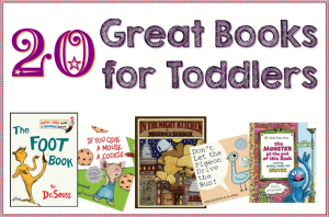 20 of our favorite books for toddlers