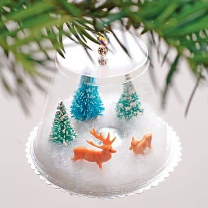 Homemade Christmas ornaments
