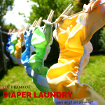 Cloth Diaper Laundry and the Drama that Goes Along with It