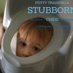 Potty Training a Stubborn Preschooler