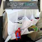 Fun Ideas for Your Next Road Trip and a DIY Back Seat Organizer