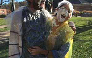 ASU American Sign Language Club pies professors for fundraiser