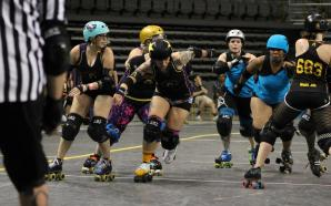 Roller Derby Girls sweep home bout