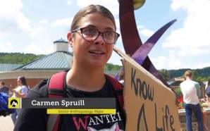 App state students protest Dakota access pipeline