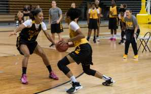 Women's basketball begin official practice