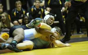 Mountaineers wrestling outlast #25 UNC
