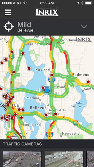 INRIX XD Traffic Maps, Routes & Alerts