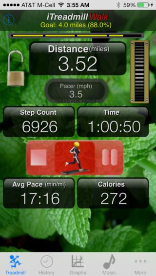 walking apps - itreadmill