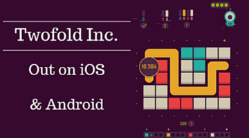 Puzzle Game Twofold Inc Out Now for iOS & Android