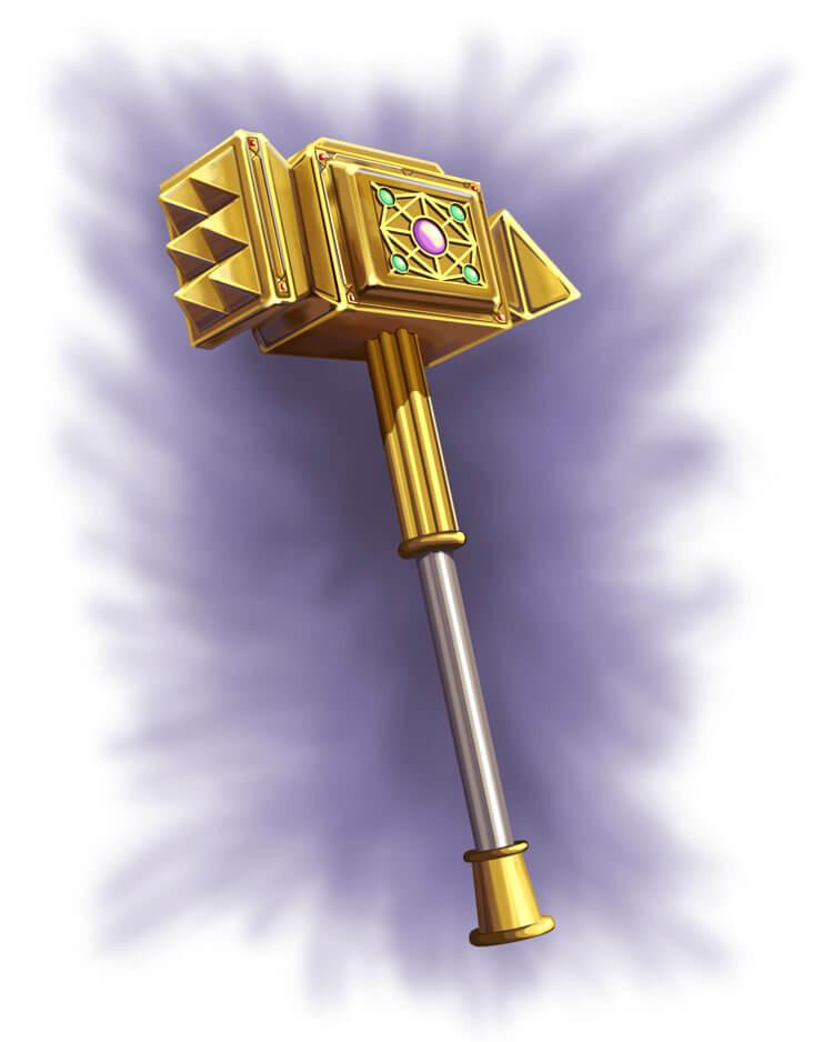 shiny hammer