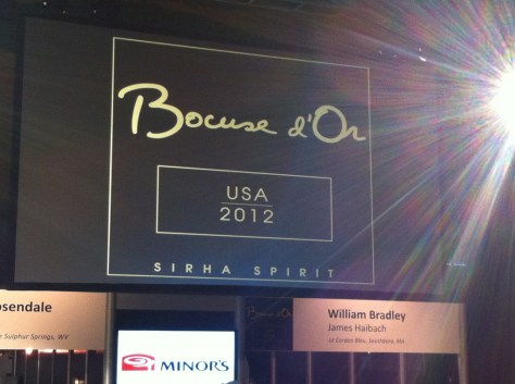 Bocuse d'Or USA 2012