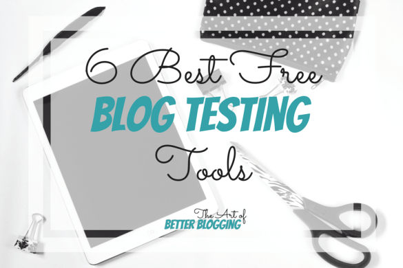 I have found some of the best free blog testing tools out there. I have tried all kinds of tests and testing websites so you don't have to! You get to skip the junk and get right to the good ones.