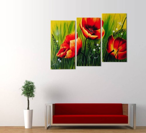 Medium Of 3 Piece Wall Art