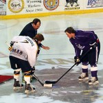 Puck drop sept 21 2012