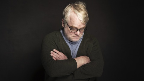 Philip Seymour Hoffman at the Sundance Film Festival in Park City, Utah -- two weeks before he was found dead in his New York apartment. (Photo by Victoria Will/Invision/AP)