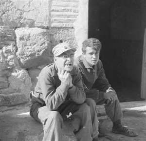 Pat Read & Harry Fisher (r) in Spain c. 1936