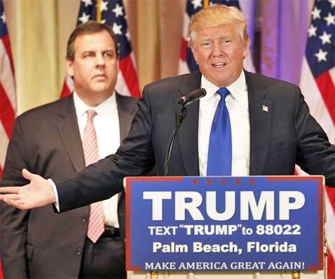 Trump&Christie