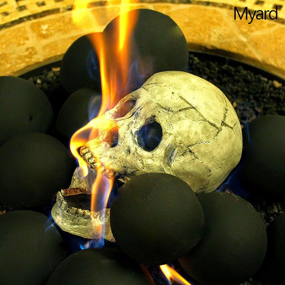 Decent Se Creepy Skull Fireplace Logs Halloween Fire Pit Skulls Fire Pit Skulls Ebay Skull Fireplace Come On Baby Light My Fire houzz-03 Fire Pit Skulls