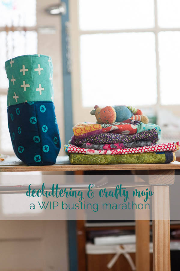 on how decluttering brought back my mojo and got 8 projects out the door in one weekend