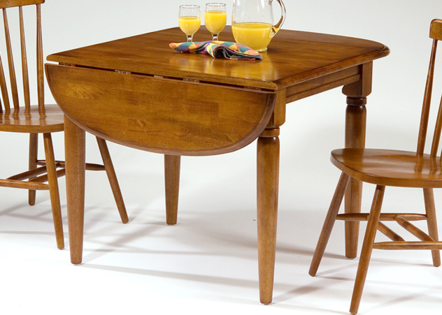 Facts about drop leaf dining tables the basic for Basic dining table