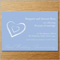 Invitations - Anniversary Invitation 6