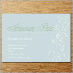 Invitations - Anniversary Invitation 8