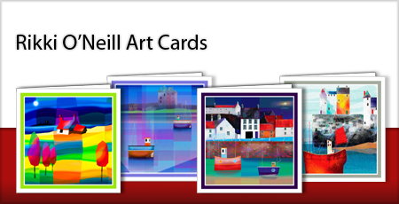 Greeting Cards - Art Cards from Rikki O'Neill