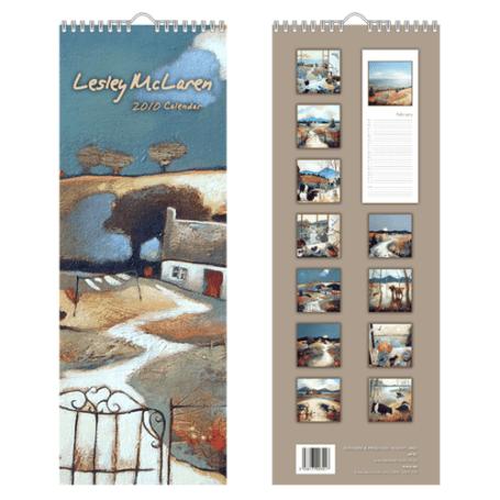 lesley-mclaren-2010-slimline-calendar
