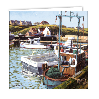 st abs harbour art card