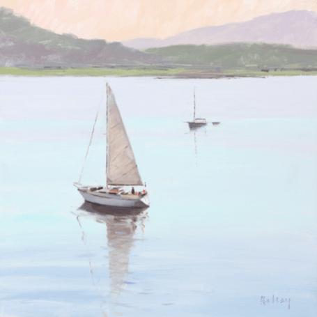 Evening Loch Crinan