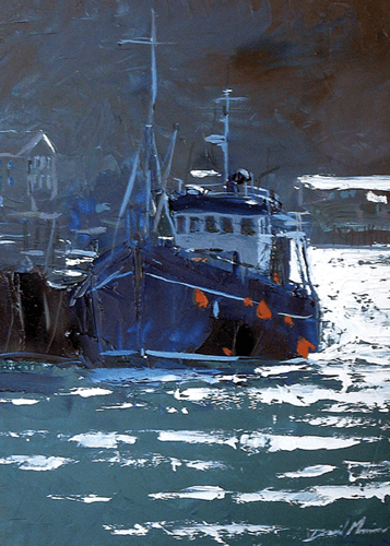 Fishing Boat Oban FA dAVID mORRISON