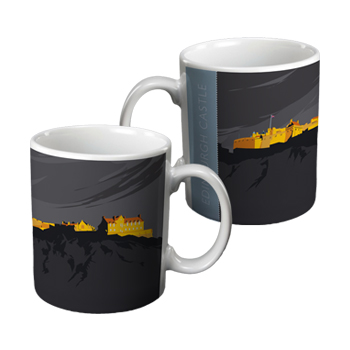 Edinburgh Castle Ceramic Gift Mug